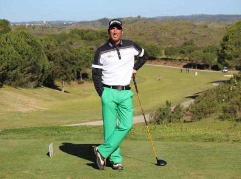 Tiago Cruz 3º classificado Jamie Abbott campeão vai ao Open de Portugal