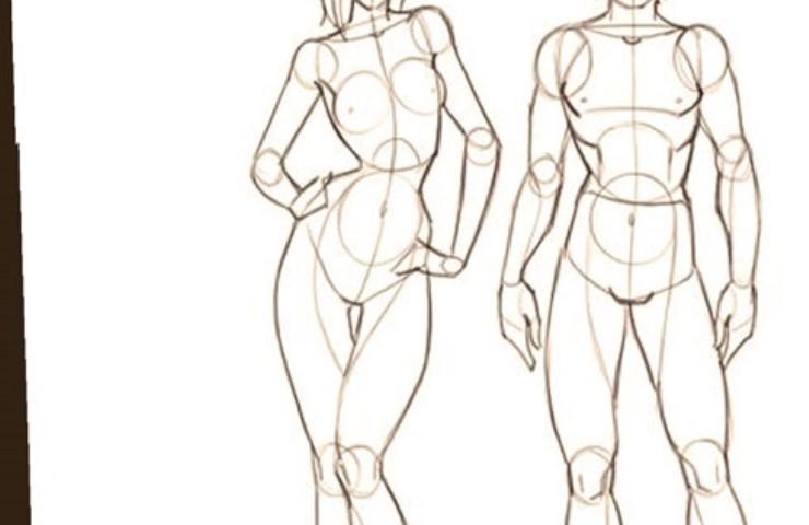 Desenho de Modelo (com modelo vivo)