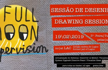 "Drawing Session ""Full Moon Supervision"""
