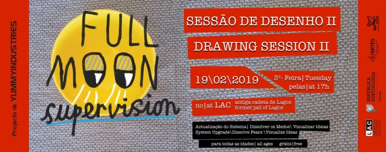 """Drawing Session """"Full Moon Supervision"""""""