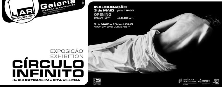 """Exposição """"CIRCULO INFINITO"""", de Rui Patraquim e Rita Vilhena"""
