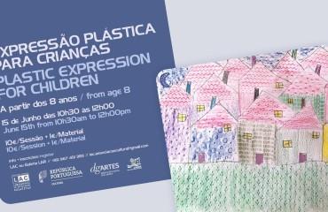 Workshop de Expressão plástica para crianças