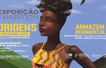 """Exposição """"ORIGENS"""", de Alexandre Keto"""