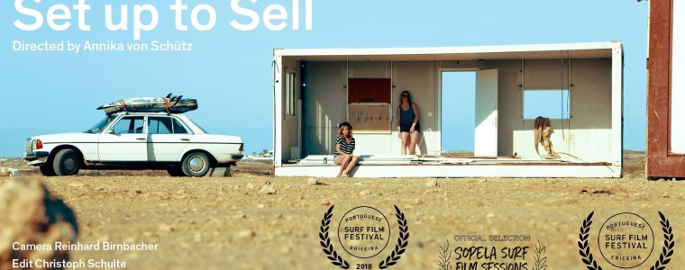 "Documentário ""Set up to Sell – Surfing as a lifestyle product"", de Annika von Schütz"
