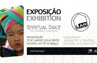 """Exposição """"Spiritual Daily"""" de Hanna Lumbroso"""