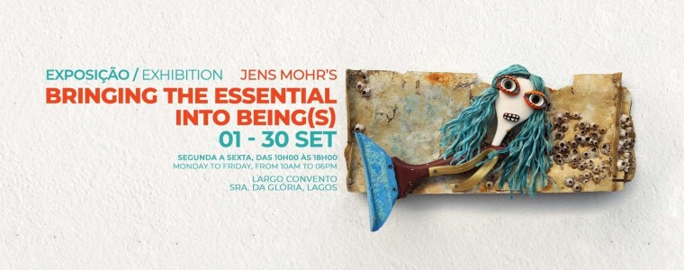 """Exhibition """"Bringing the essential into being(s)"""" by Jens Mohr"""