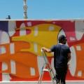 Mural com Gonçalo MAR