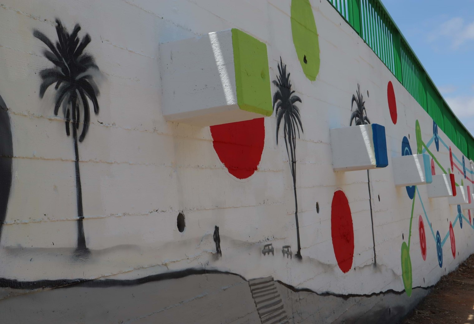 Collaborative Mural with Tars8two and APC
