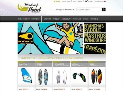 Windsurpoint - e_shop