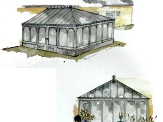 Зимние сады и cтеклянные потолки