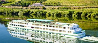 Schiffreise am Douro entlang