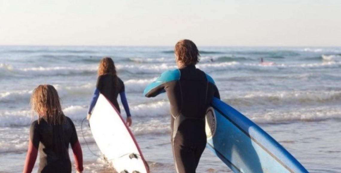 Surfen in der Algarve