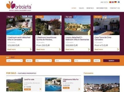 Borboleta - Properties
